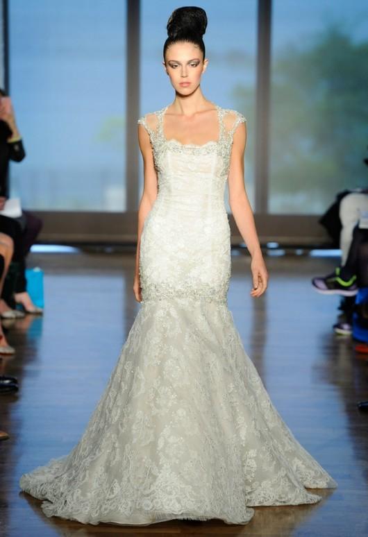 abito da sposa Elene Ines di Santo Fall 2014
