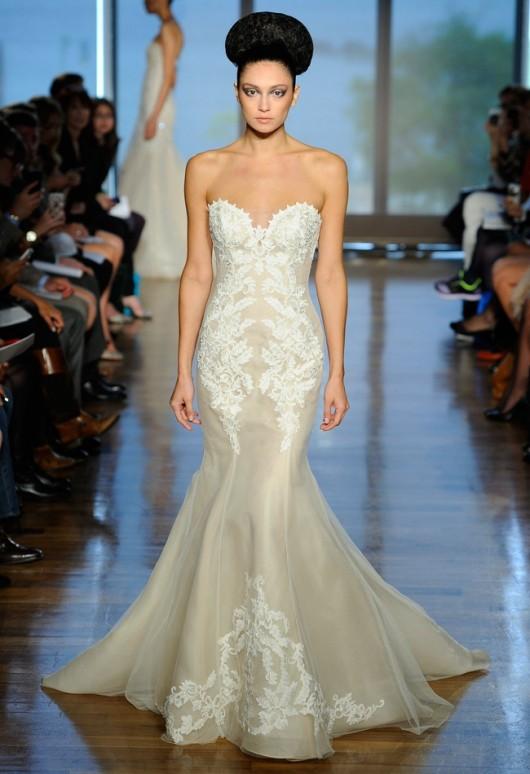 abito da sposa Elisavet Ines di Santo Fall 2014