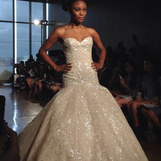 abito da sposa Eudora Ines di Santo Fall 2014 foto bridalguide