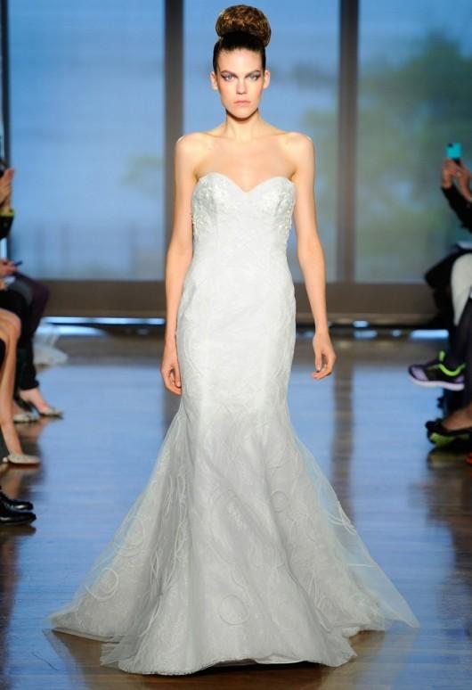 abito da sposa Galia Ines di Santo Fall 2014
