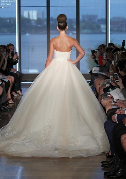 abito da sposa Halle Ines di Santo Fall 2014 foto styleunveiled.com