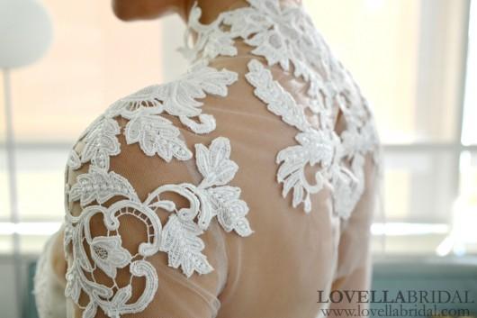 abito da sposa Helene Ines di Santo Fall 2014 foto lovellabridal