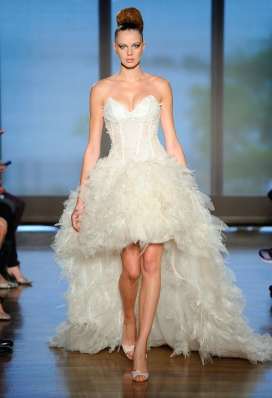 abito da sposa Ines di Santo Fall 2014