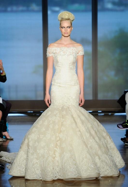 abito da sposa Iva Ines di Santo Fall 2014