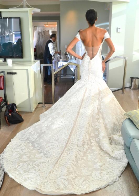 abito da sposa Iva Ines di Santo Fall 2014 foto lovellabridal