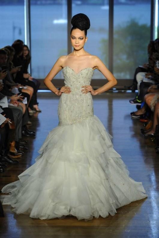 abito da sposa Leda Ines di Santo Fall 2014