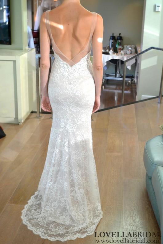 abito da sposa Maia Ines di Santo Fall 2014 foto lovellabridal