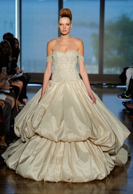 abito da sposa Metis Ines di Santo Fall 2014