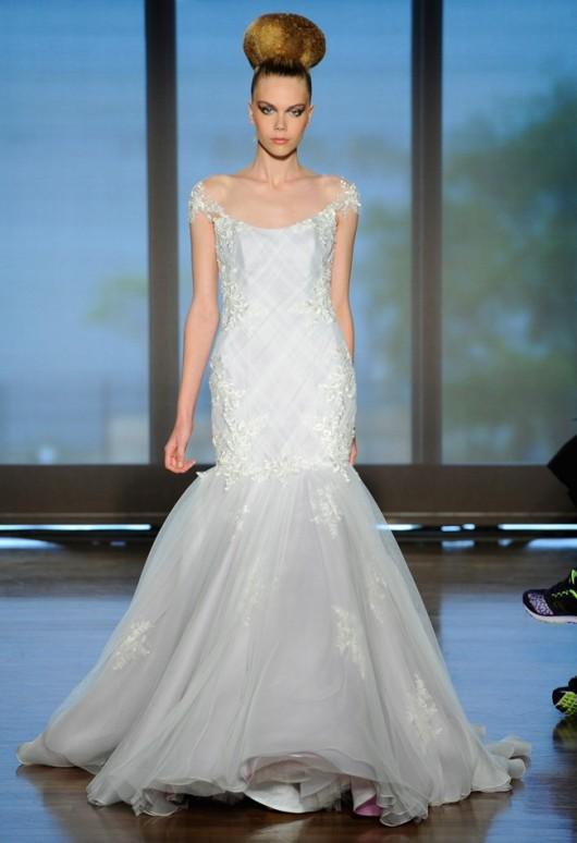 abito da sposa Thalia Ines di Santo Fall 2014