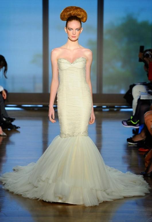 abito da sposa Theia Ines di Santo Fall 2014