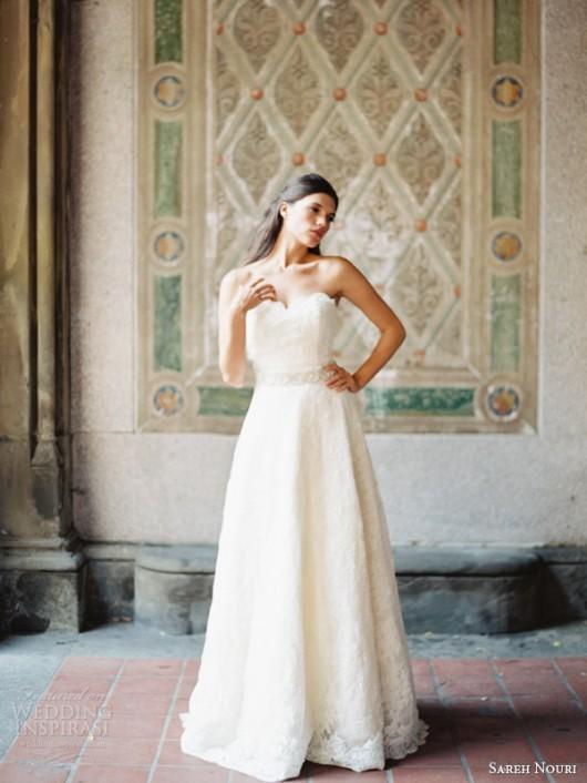 abito da sposa Amelie Sareh Nouri Fall 2014 foto weddinginspirasi