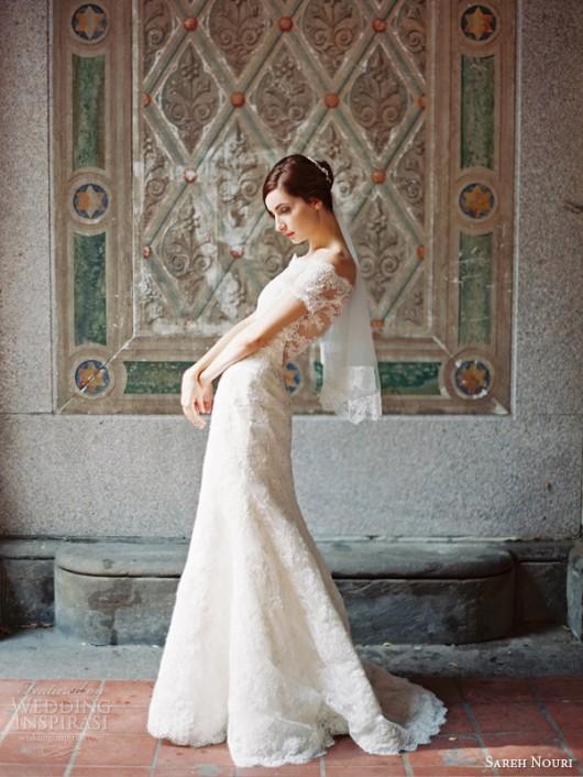 abito da sposa Clara Sareh Nouri Fall 2014
