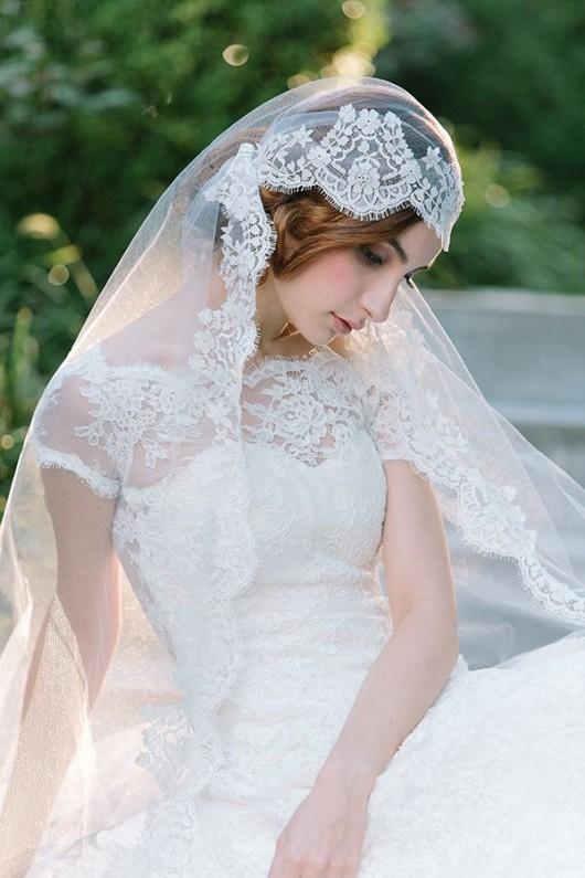 abito da sposa Clara Sareh Nouri Fall 2014 foto Millie B Photography