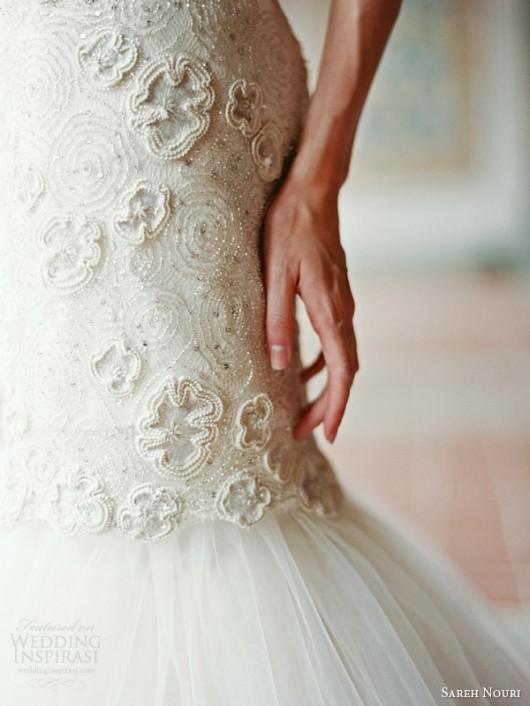 abito da sposa Delphine Sareh Nouri Fall 2014 foto weddinginspirasi