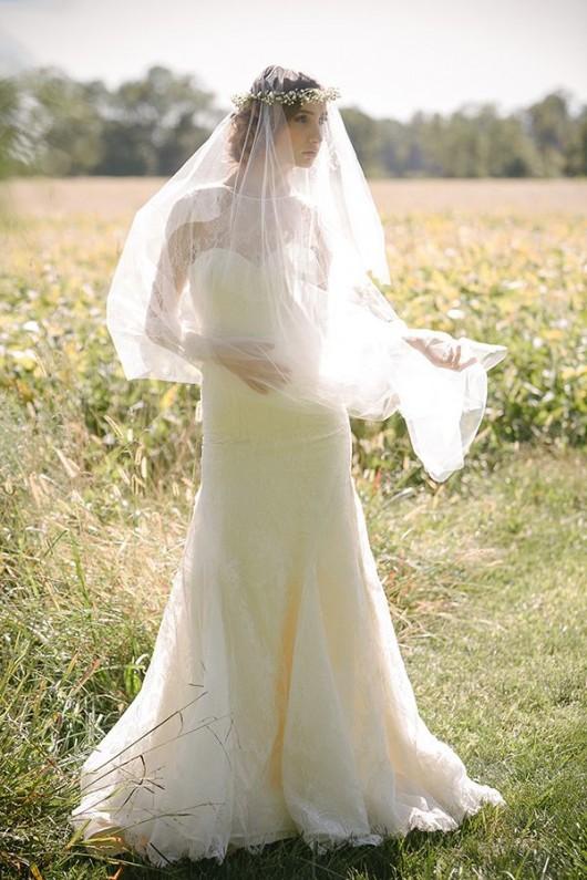 abito da sposa Estelle Sareh Nouri Fall 2014 foto Millie B Photography