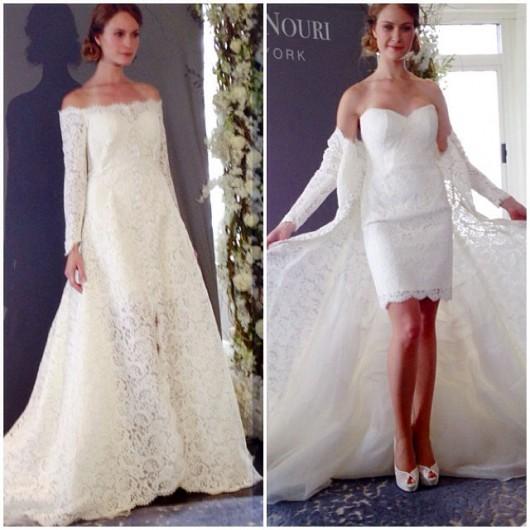 abito da sposa Halina Sareh Nouri Fall 2014 foto prestonrbailey