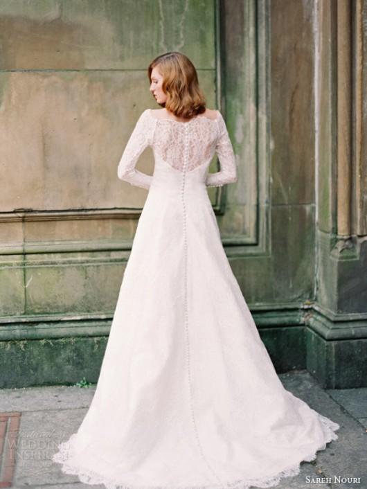 abito da sposa Jospehine Sareh Nouri Fall 2014 foto weddinginspirasi