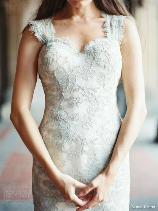 abito da sposa Liza Sareh Nouri Fall 2014 foto weddinginspirasi