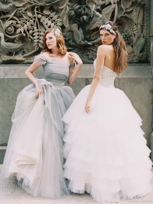 abiti da sposa Marie Antoniette e Lily Sareh Nouri Fall 2014 foto weddinginspirasi