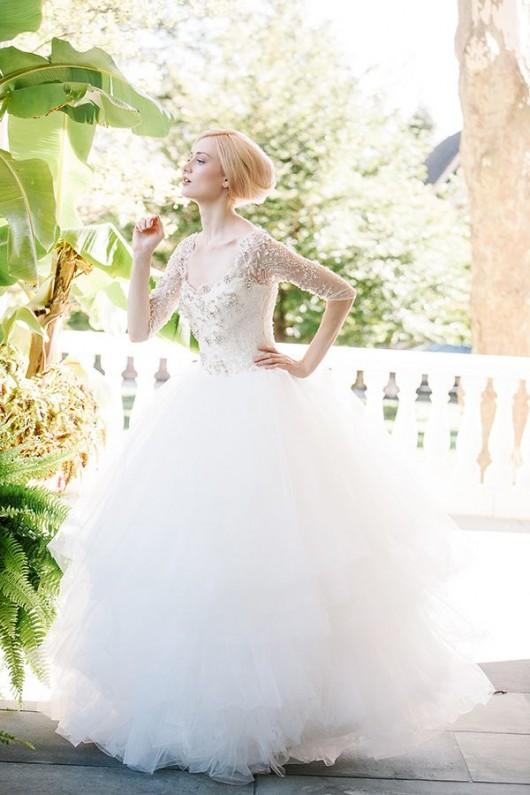 abito da sposa Ziba Sareh Nouri Fall 2014 foto Millie B Photography