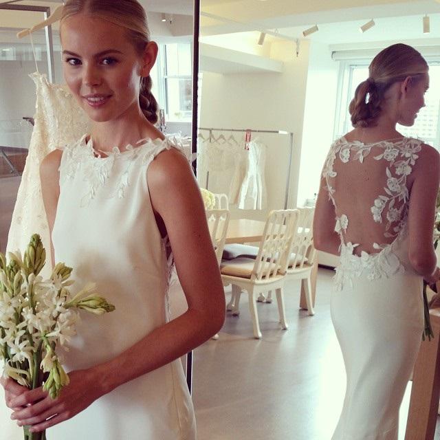 abito da sposa Oscar de la Renta Fall 2015 foto keijaminor