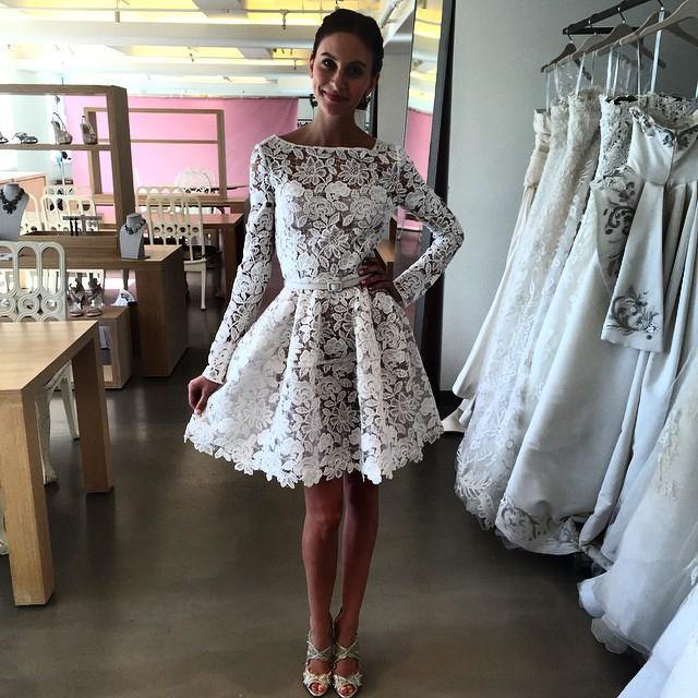 abito da sposa Oscar de la Renta Fall 2015 foto jessicamulroney
