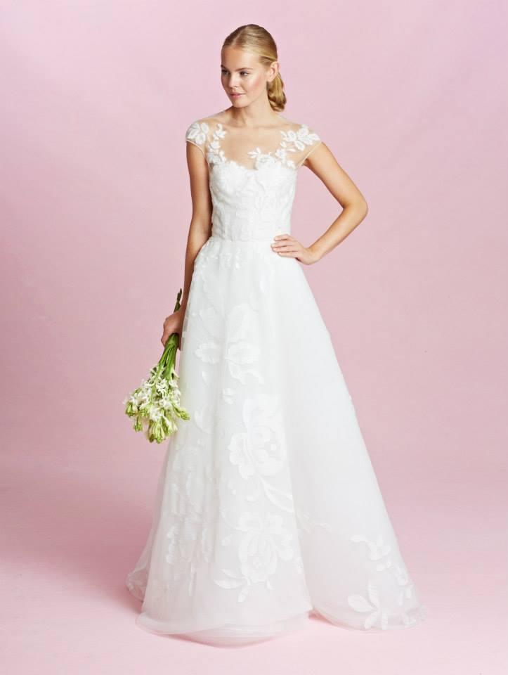 abito da sposa Oscar de la Renta Fall 2015