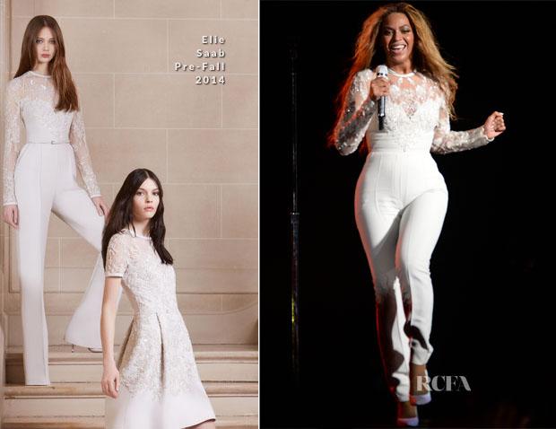 Beyoncé in tuta da sposa Elie-Saab - foto RCFA