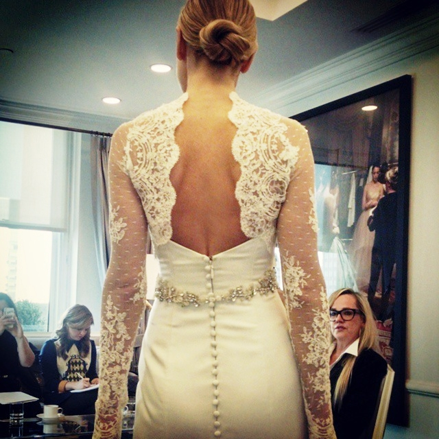 abito da sposa Legends Romona Keveza Fall 2015