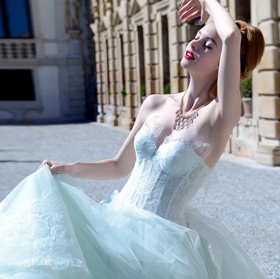 Atelier Aimee Collezione 2015 – Cristalli e pizzo filé - Giselle