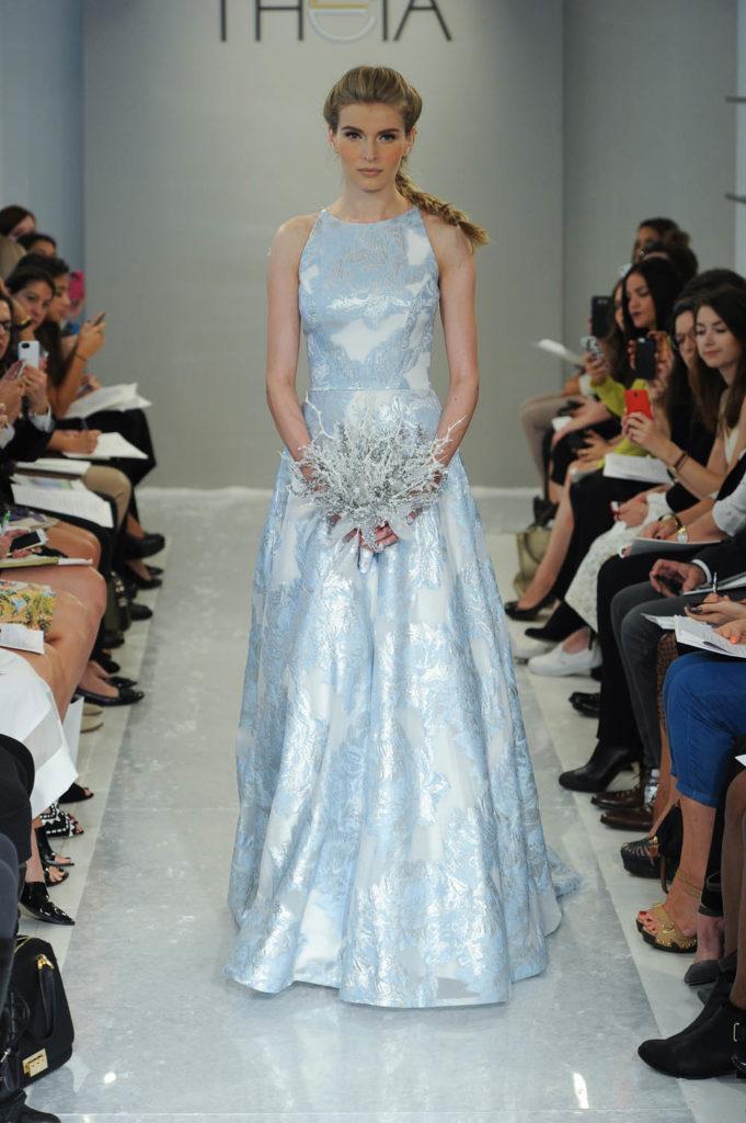 sconto uk sporco sporco online L'abito da sposa azzurro per nozze da fiaba