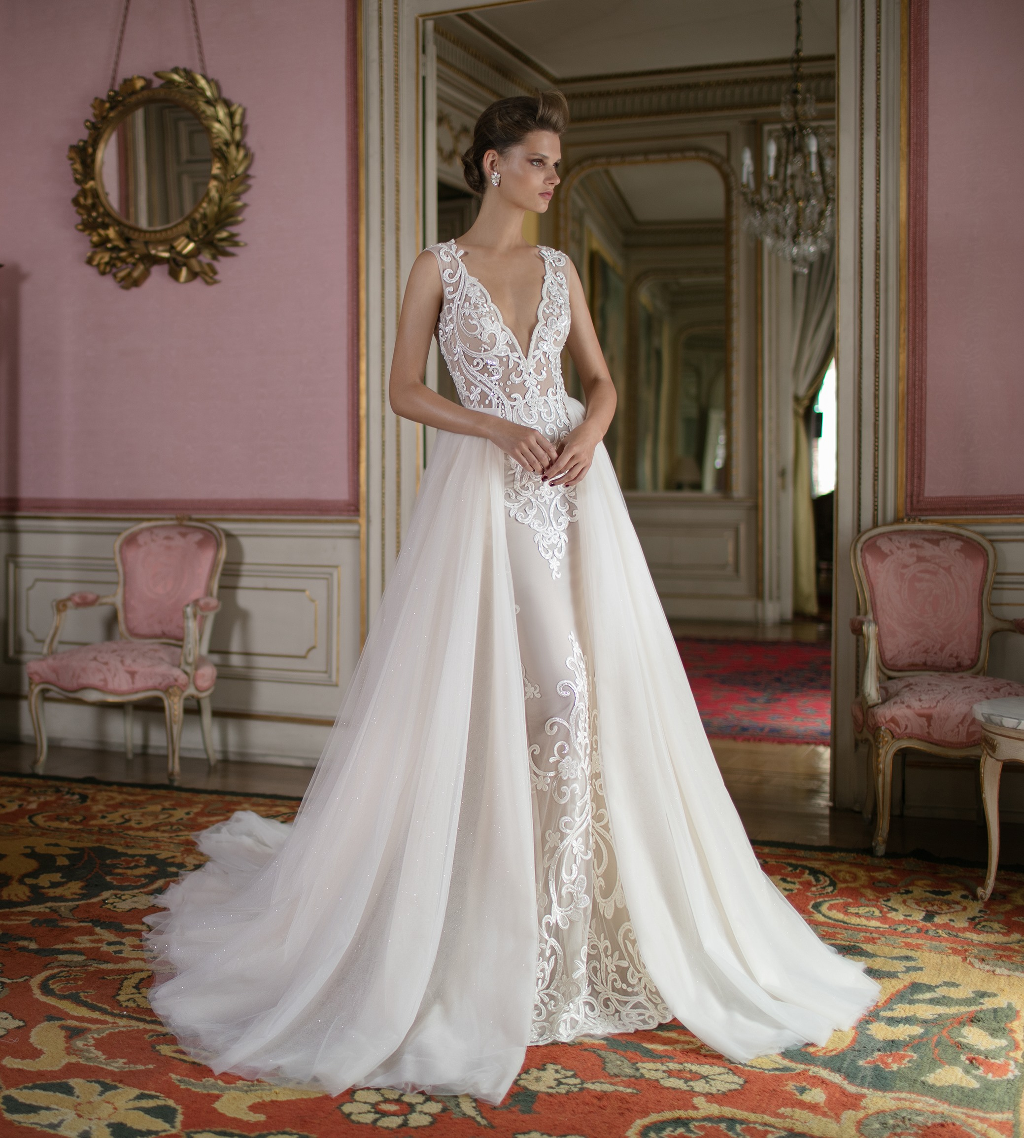 Abiti Da Cerimonia 7 Bis.Aristocratica E Sensuale La Sposa Berta Spring 2016