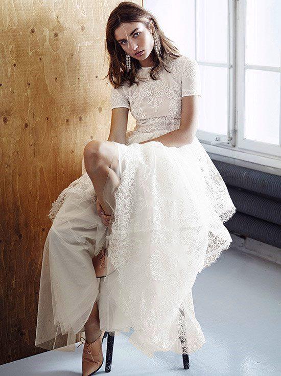 Da Hm Labito Da Sposa Eco Sostenibile Artistico E Low Cost The Dress