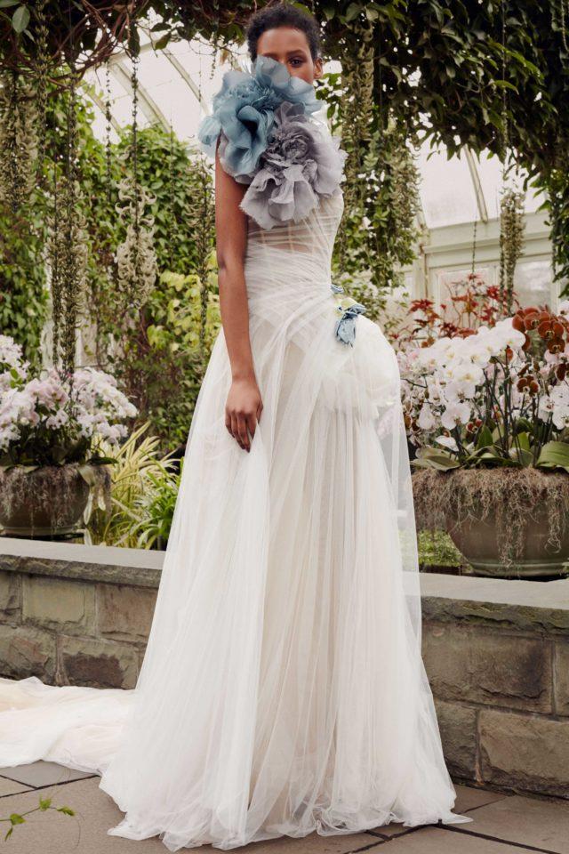 Camellia Vera Wang sposa Spring 2020