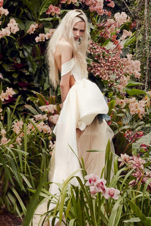 Hyagiacinth Vera Wang sposa Spring 2020