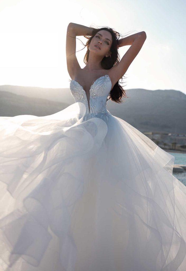 Abito da sposa Pnina Tornai Love 2020 prezzo 5.600 dollari