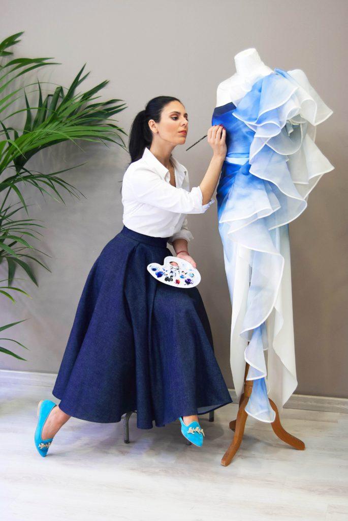 100% authentic 5f1b4 dc5ee Luana Polimeni veste l'anima della sposa couture