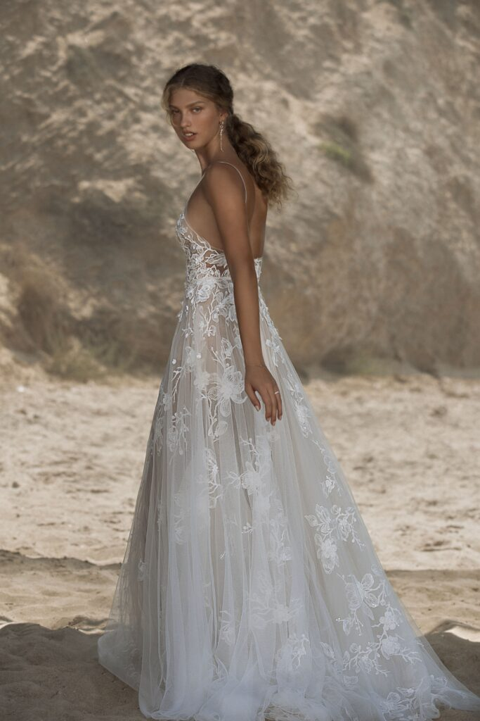abito da sposa da principessa Muse Berta 2021