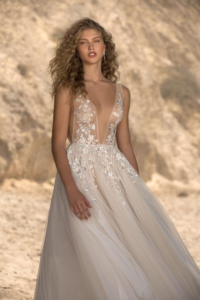 abito da sposa alla caviglia Muse Berta 2021