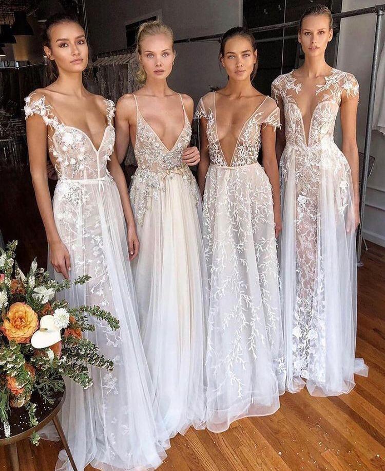 collezione abiti da sposa estivi Muse di Berta Fall 2021 Vista Mare