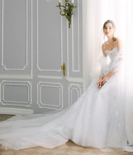 abito da sposa da princpessa Monique Lhuillier Fall 2021