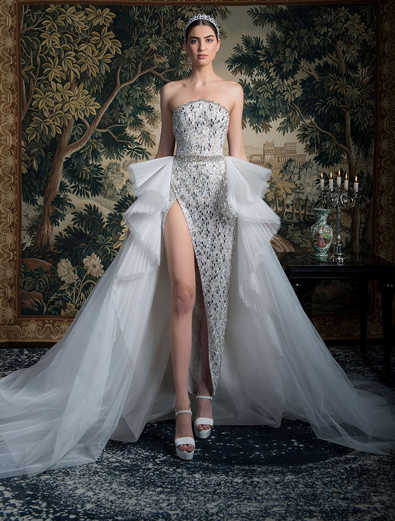 abito da sposa componibile Georges Hobeika Spring 2022