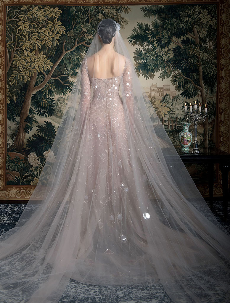 abito da sposa rosa Georges Hobeika Spring 2022