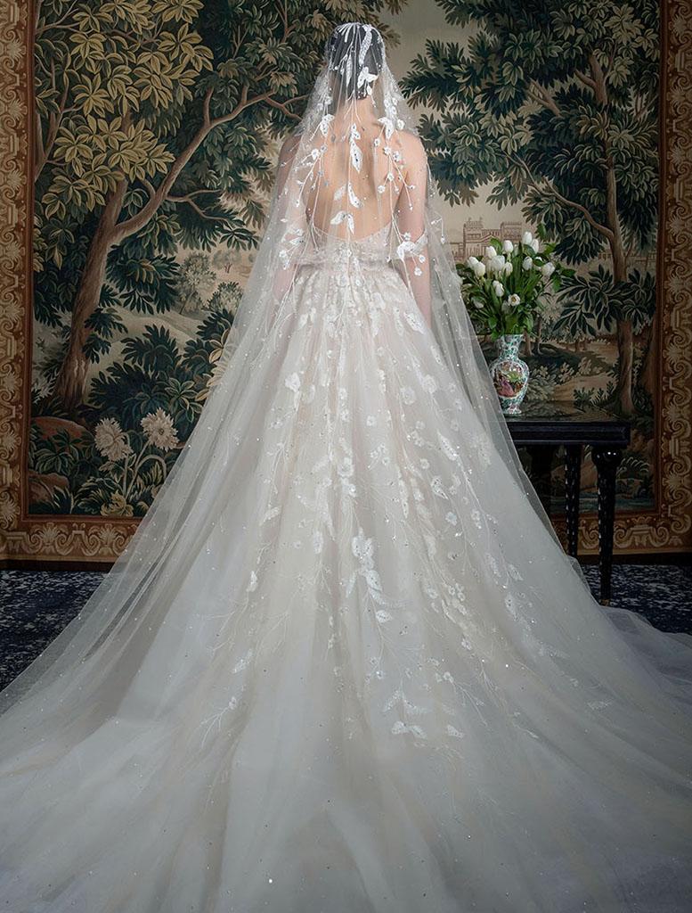 abito da sposa da principessa Georges Hobeika Spring 2022