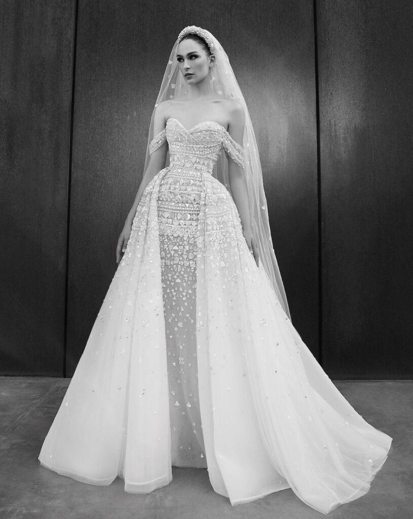 abito da sposa componibile Zuhair Murad Spring 2022