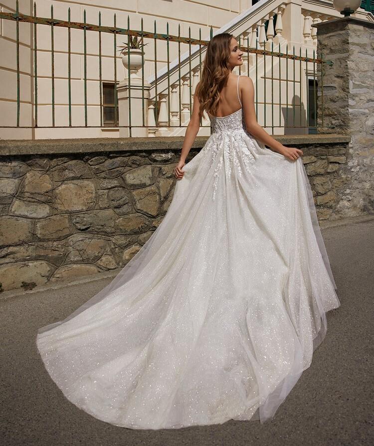 abito da sposa da principessa Ines di Ines di Santo Spring 2022 Jyn
