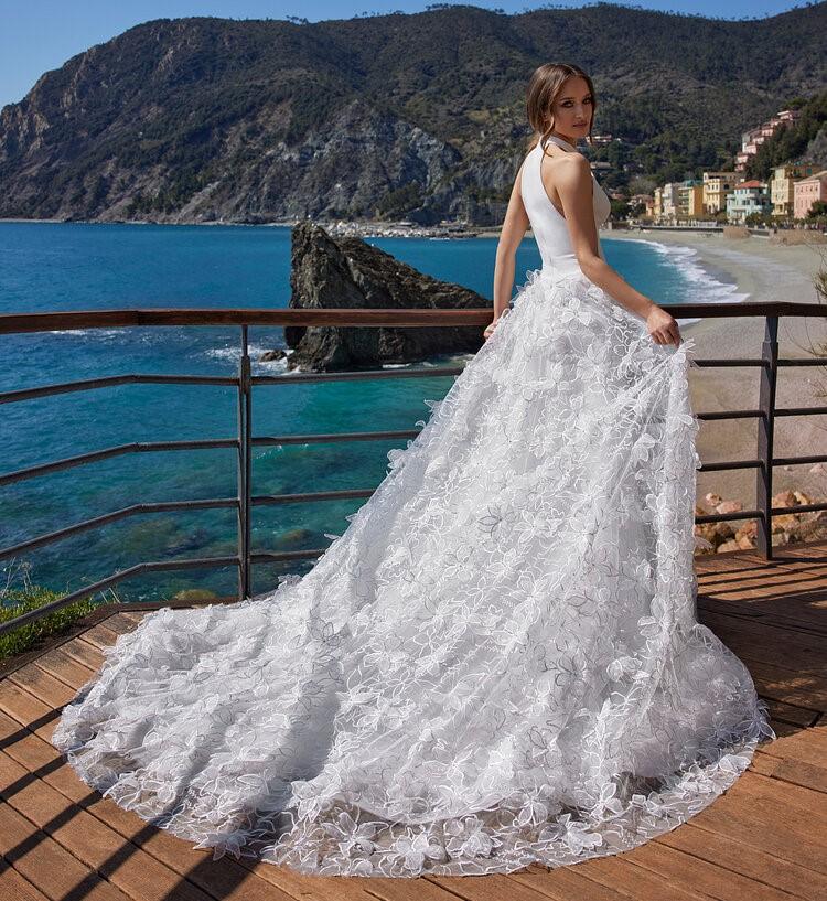 abito da sposa da principessa Ines di Ines di Santo Spring 2022 Penelope