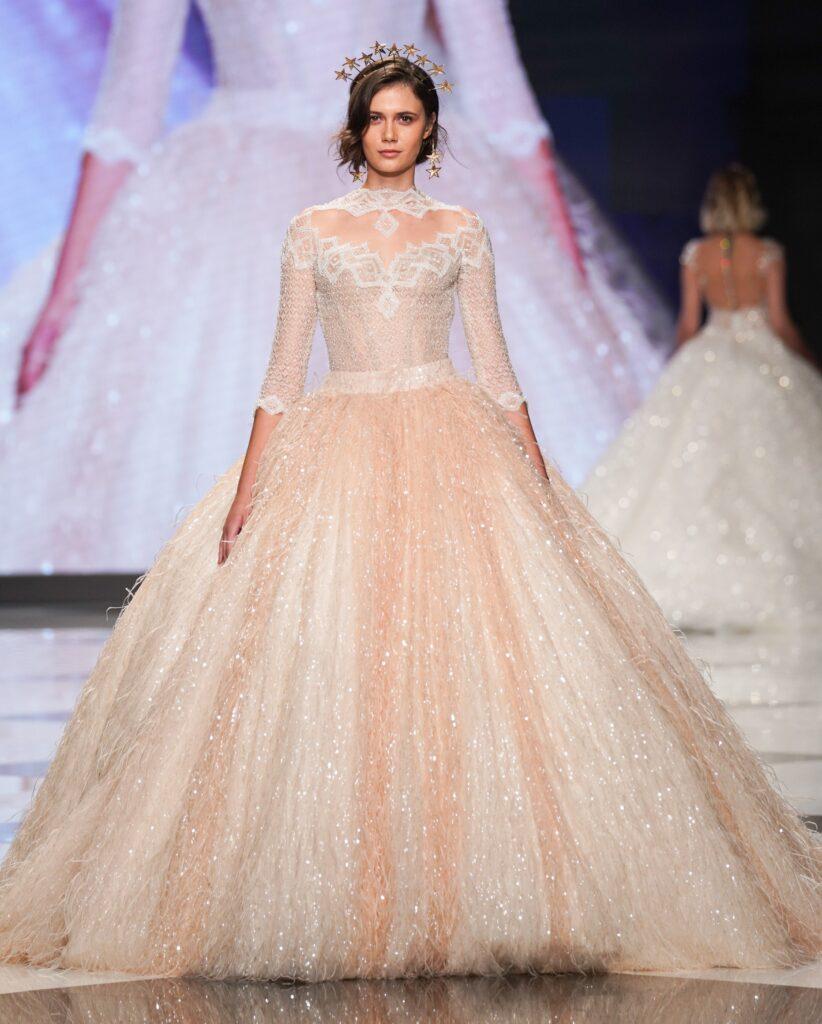 abito da sposa principesco Emiliano Bengasi 2022