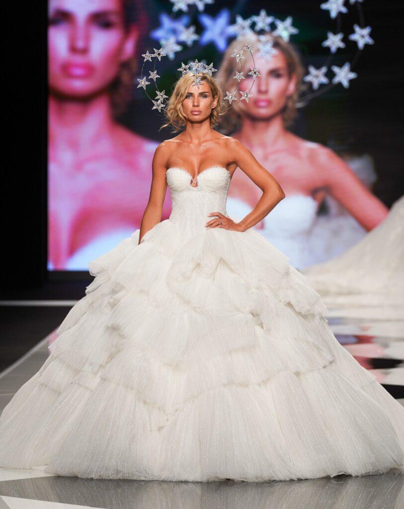 abito da sposa da principessa Emiliano Bengasi 2022