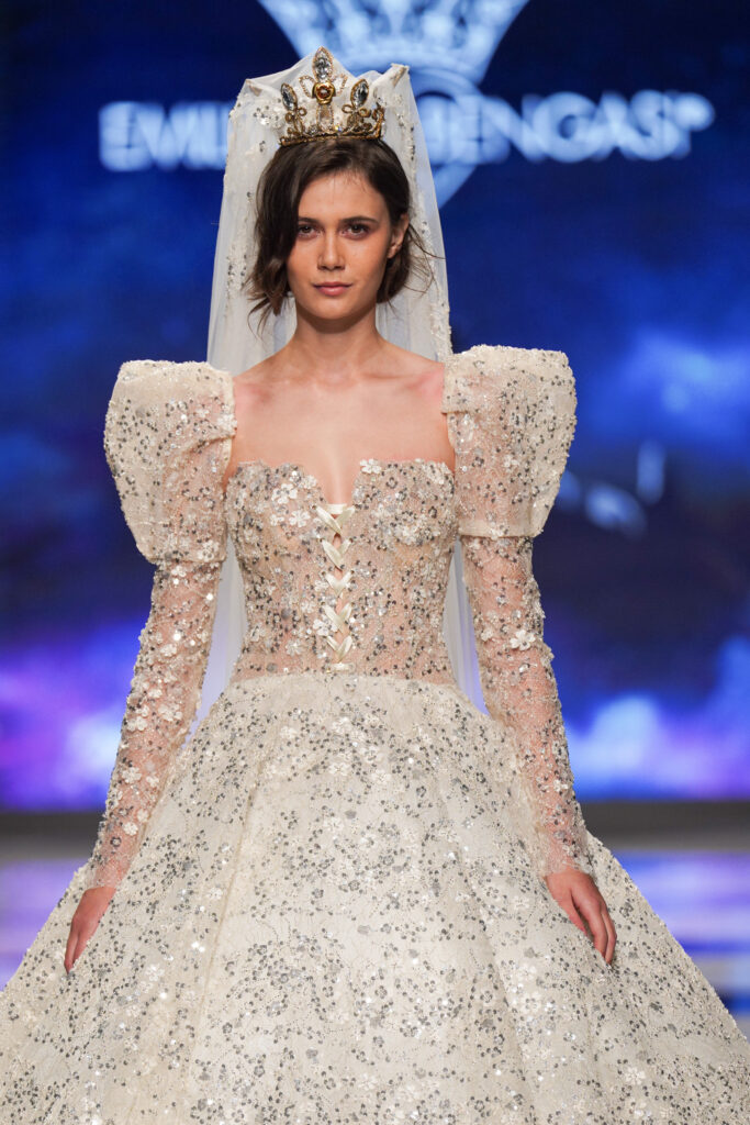 abito da sposa regale Emiliano Bengasi 2022